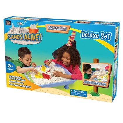 Sands Alive! Deluxe Set  |  Play Visions, Club Earth & Cascade Toys  |  Play Visions, Club Earth & Cascade Toys