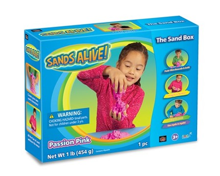 Sands Alive! Passion Pink Sand Box