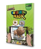 Safari 3D Magic Coloring Book