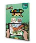Dino 3D Magic Coloring Book