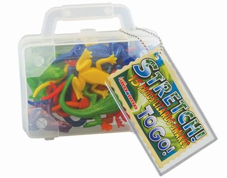 Reptile Stretch To Go  |  Play Visions, Club Earth & Cascade Toys