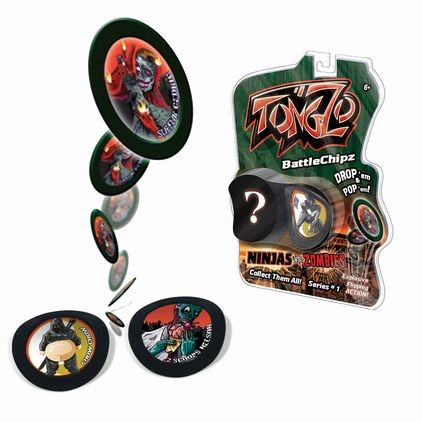 TongZo Ninja vs. Zombie 2 Pack  |  Play Visions, Club Earth & Cascade Toys
