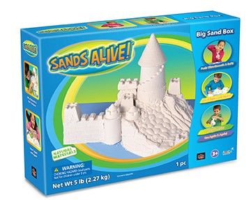 Sands Alive! 5lb Bag  |  Play Visions, Club Earth & Cascade Toys