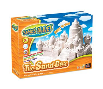 Sands Alive! The Sand Box  |  Play Visions, Club Earth & Cascade Toys