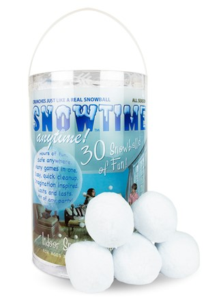 Snowtime Anytime |  Play Visions, Club Earth & Cascade Toys