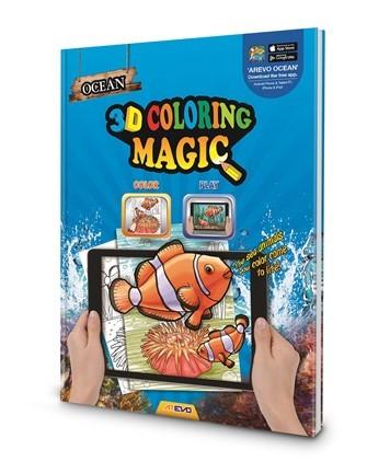 3D Magic Coloring Book