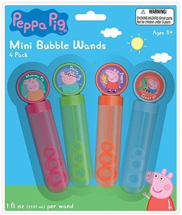 Play visions for Mini bubble wands