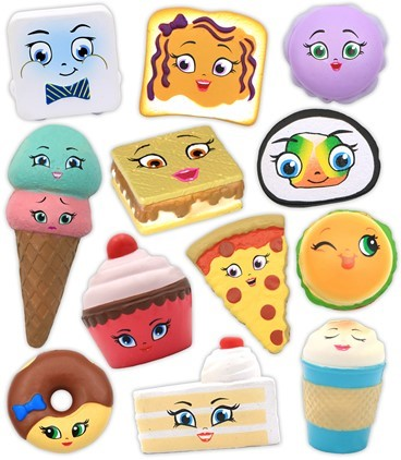 Kawaii Squeezies Food Assortment