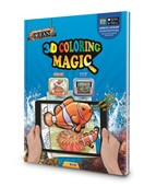 Ocean 3D Magic Coloring Book