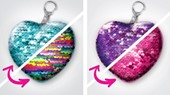 Heart & Star Keychains