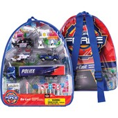 Police Backpack Playset